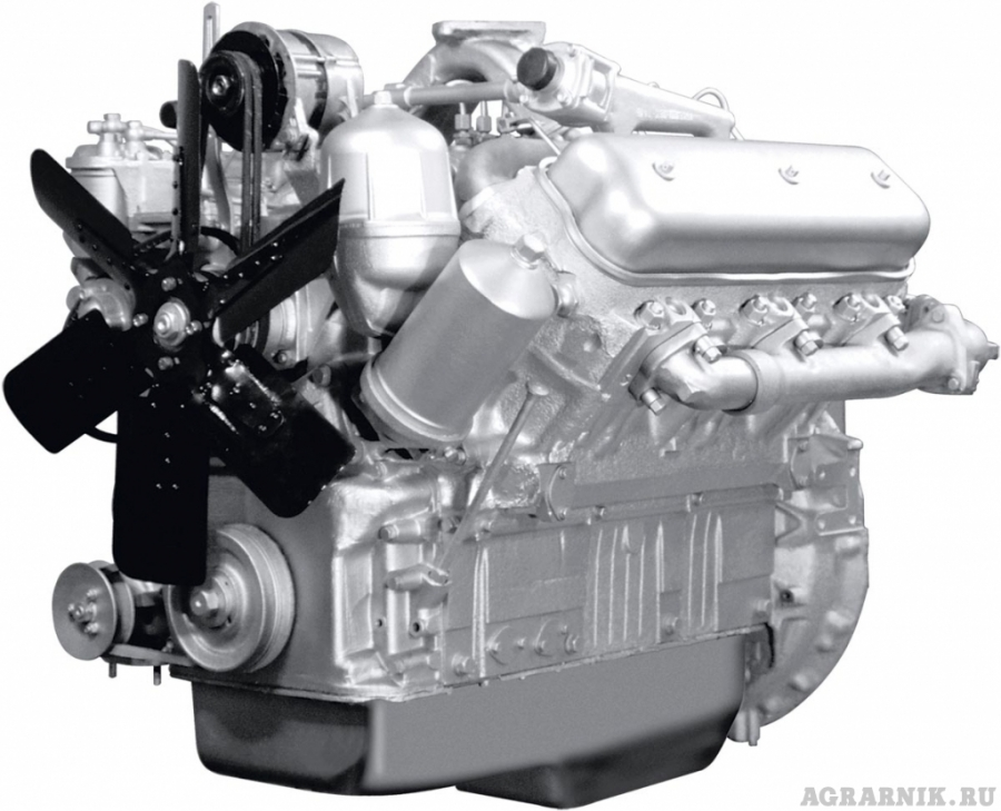 Двигатель новый ЯМЗ 236М2 (МАЗ) в сборе