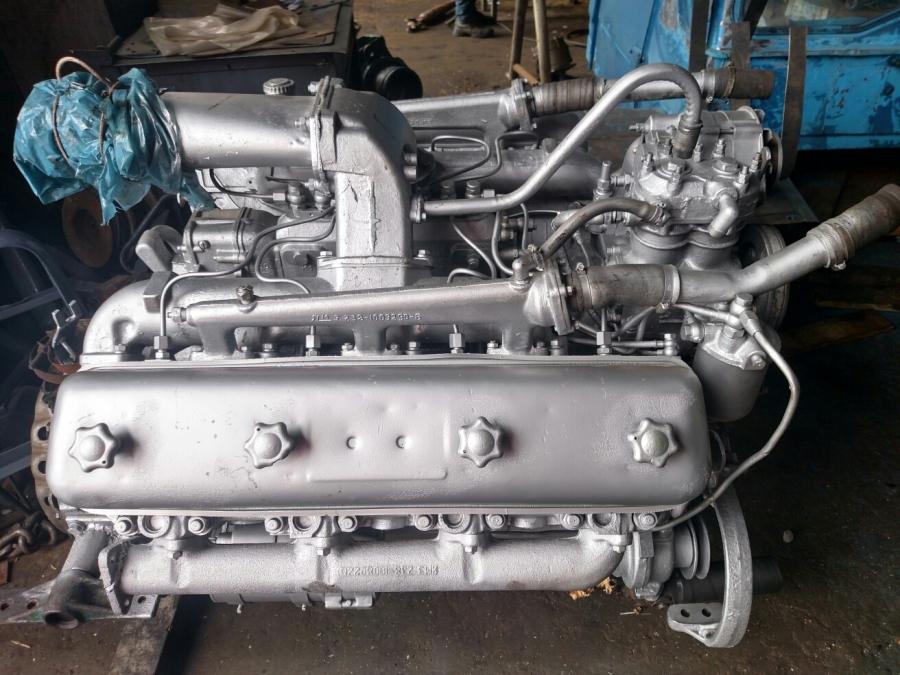 Двигатель ЯМЗ 238, Вал номинал